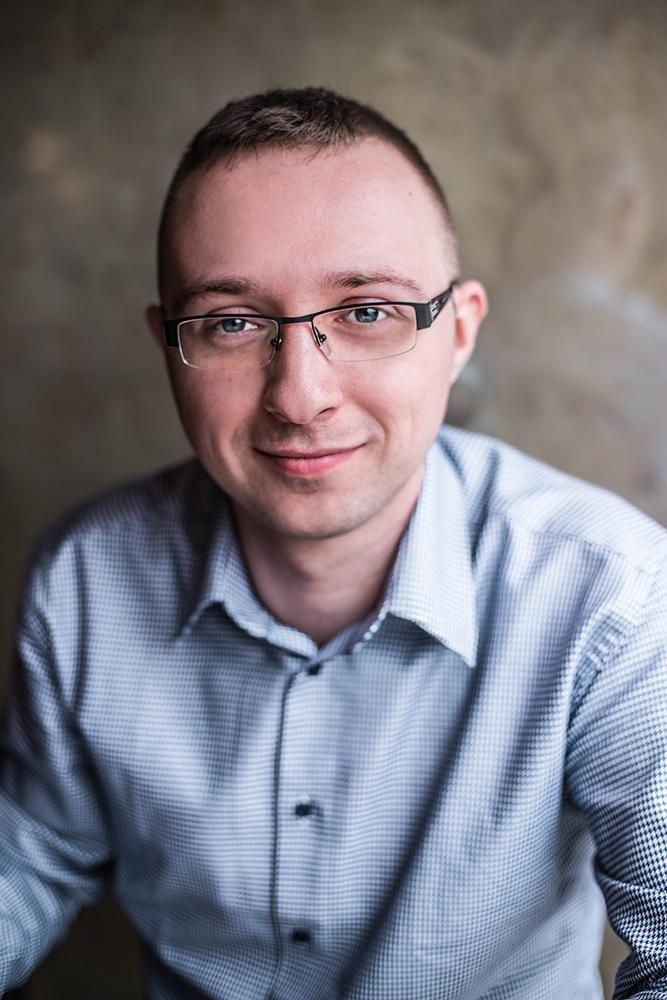 Krystian Macheta / psycholog / sesja wizerunkowa fot. Alicja Rzepa