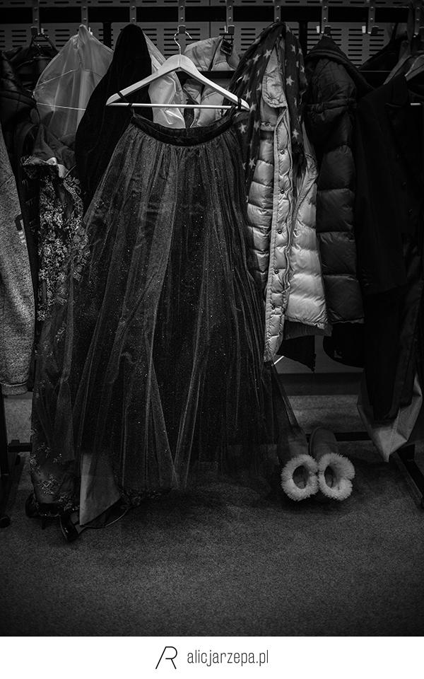 Ⓒ Alicja Rzepa • W garderobie Grupy MoCarta