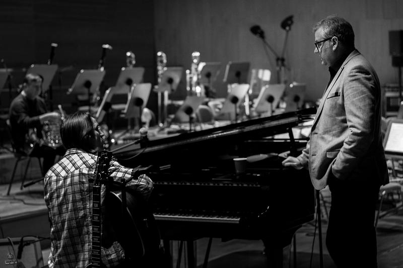 Ⓒ Alicja Rzepa • Artur Andrus / Człowiek Orkiestra / soundcheck / Wojciech Stec, Artur Andrus