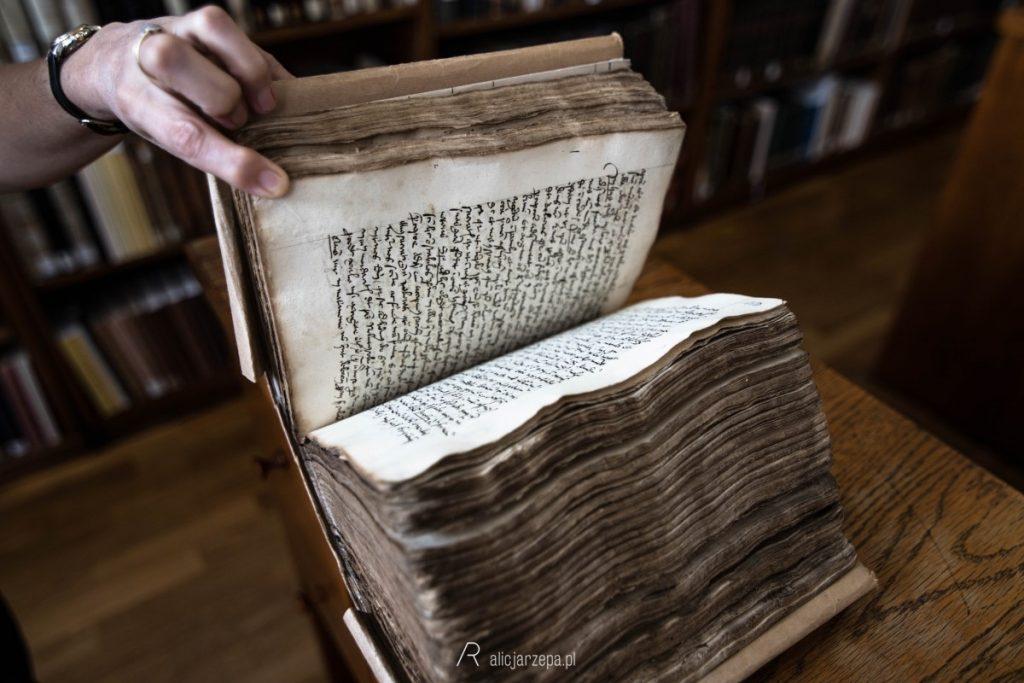 Ⓒ Alicja Rzepa • Zaczytany Kraków • Biblioteka Jagiellońska - średniowieczny rękopis