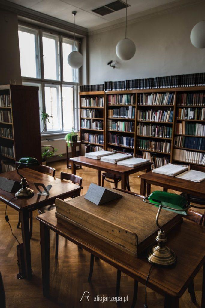 Ⓒ Alicja Rzepa • Zaczytany Kraków • Biblioteka Jagiellońska