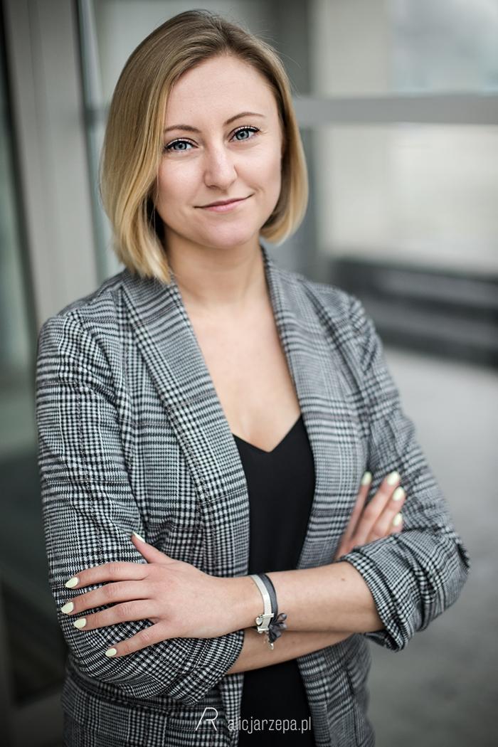 Sesja biznesowa i wizerunkowa w Krakowie. Alicja Rzepa