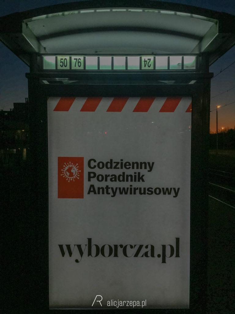 Kraków w czasie pandemii koronawirusa COVID-19.